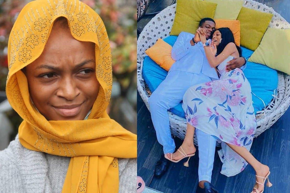 O comediante Cute Abiola alegadamente envolve-se com o influenciador das redes sociais, Adeherself (FOTOS)
