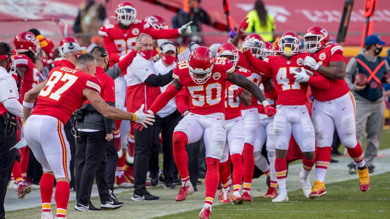 NFL: Kansas City Chiefs extraem vitória recorde