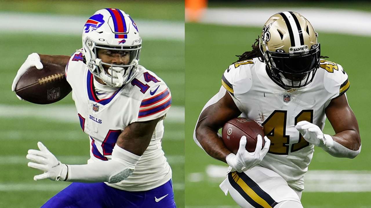 Contas WR Stefon Diggs, Santos RB Alvin Kamara entre os jogadores da semana – NFL.com