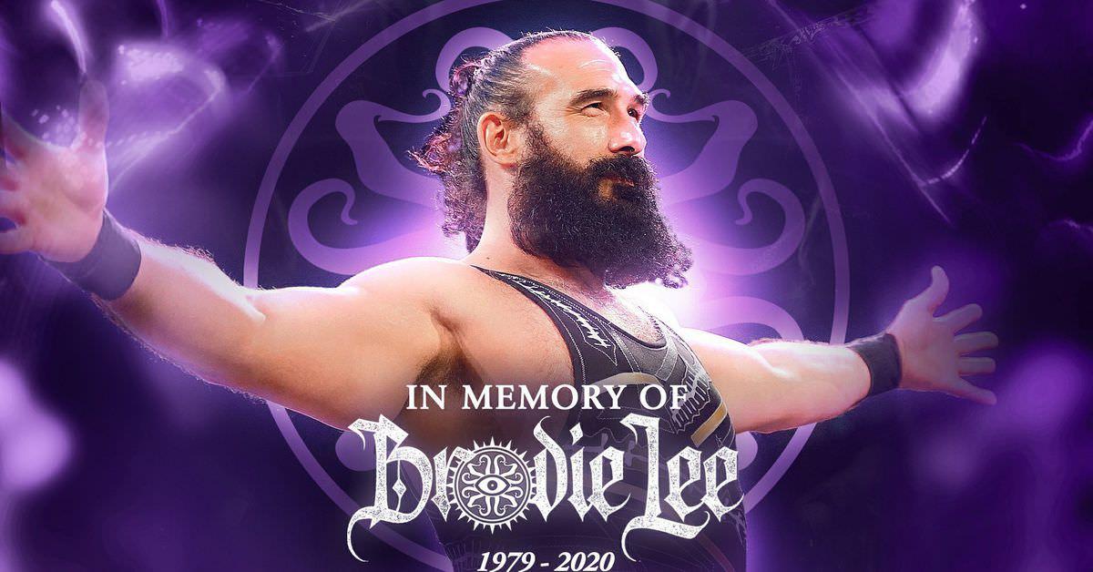 AEW contratou o filho de 8 anos de Brodie Lee antes da morte prematura de seu pai