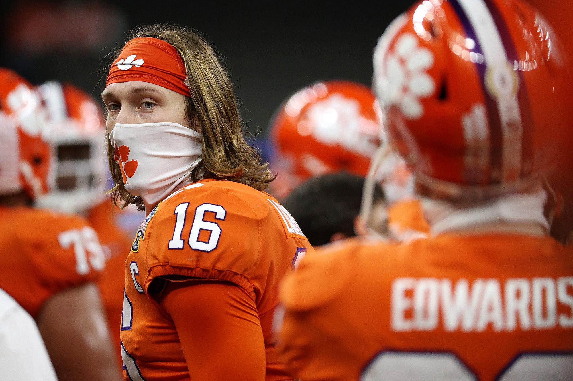 Trevor Lawrence, de Clemson, iria embora sem arrependimentos, como a NFL chama