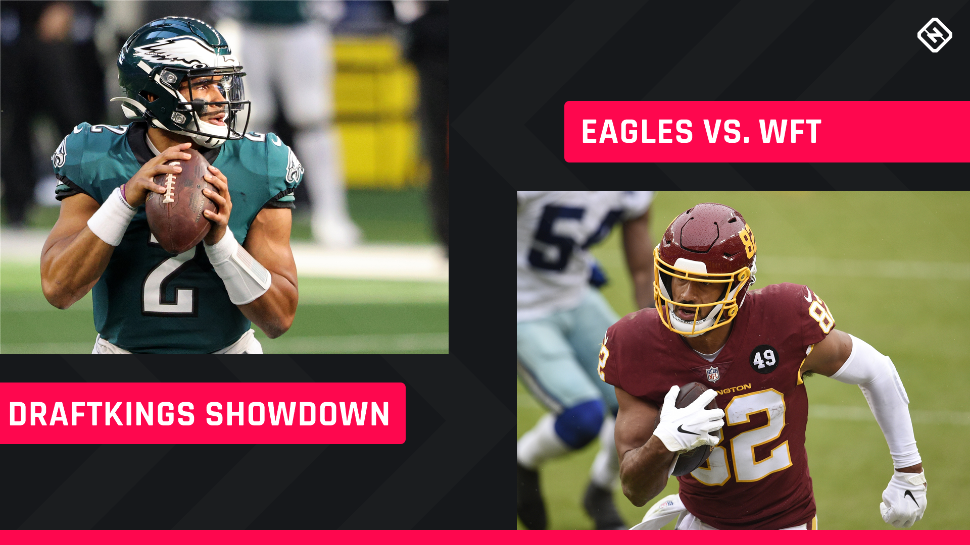 Sunday Night Football DraftKings Picks: NFL DFS lineup conselho para os torneios da Semana 17 Washington-Eagles Showdown