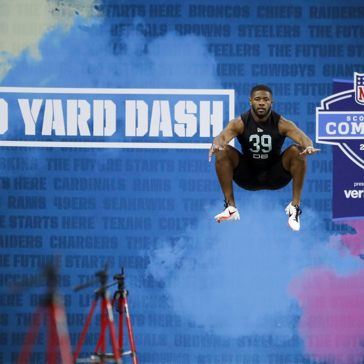 NFL supostamente 'resistente' a reagendar o draft de 2021 se o Combine for movido de volta