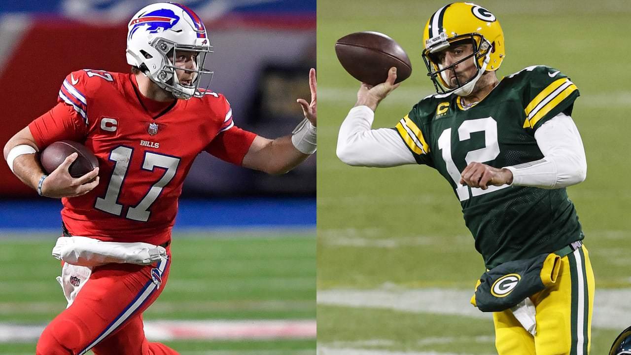 Packers QB Aaron Rodgers, Bills QB Josh Allen entre os jogadores do mês – NFL.com