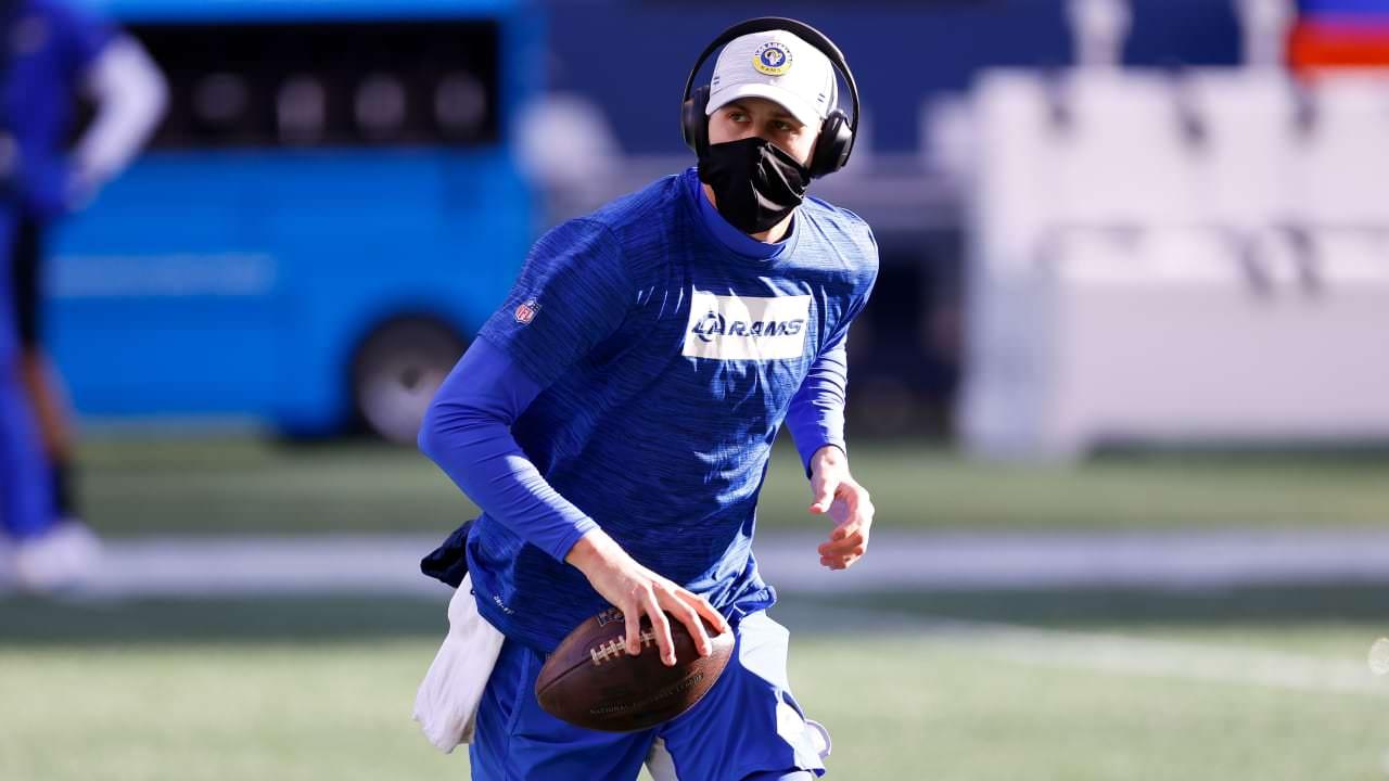 Rams QB Jared Goff (polegar) ativo vs. Seahawks – NFL.com
