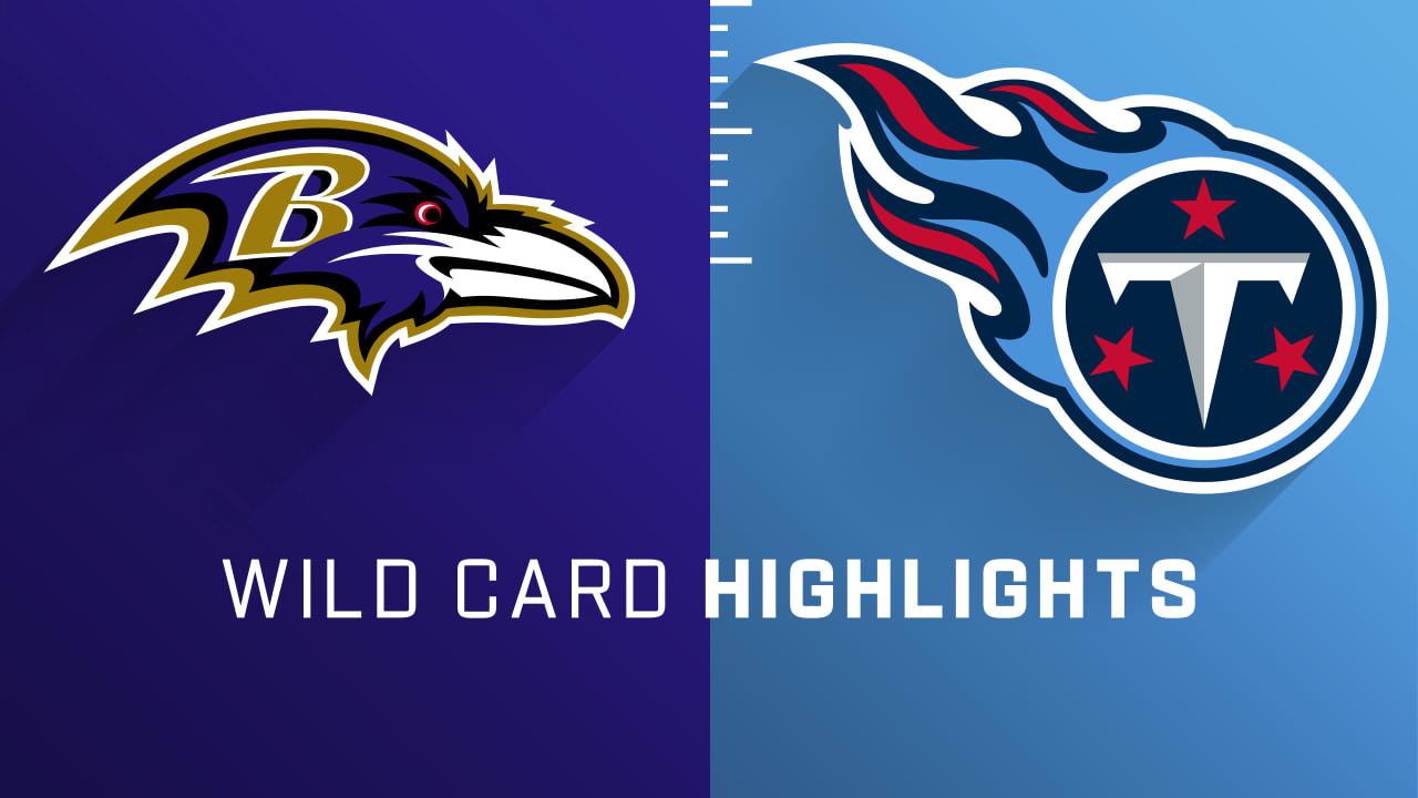 Destaques do Ravens vs. Titans |  Fim de semana Super Wild Card – NFL.com