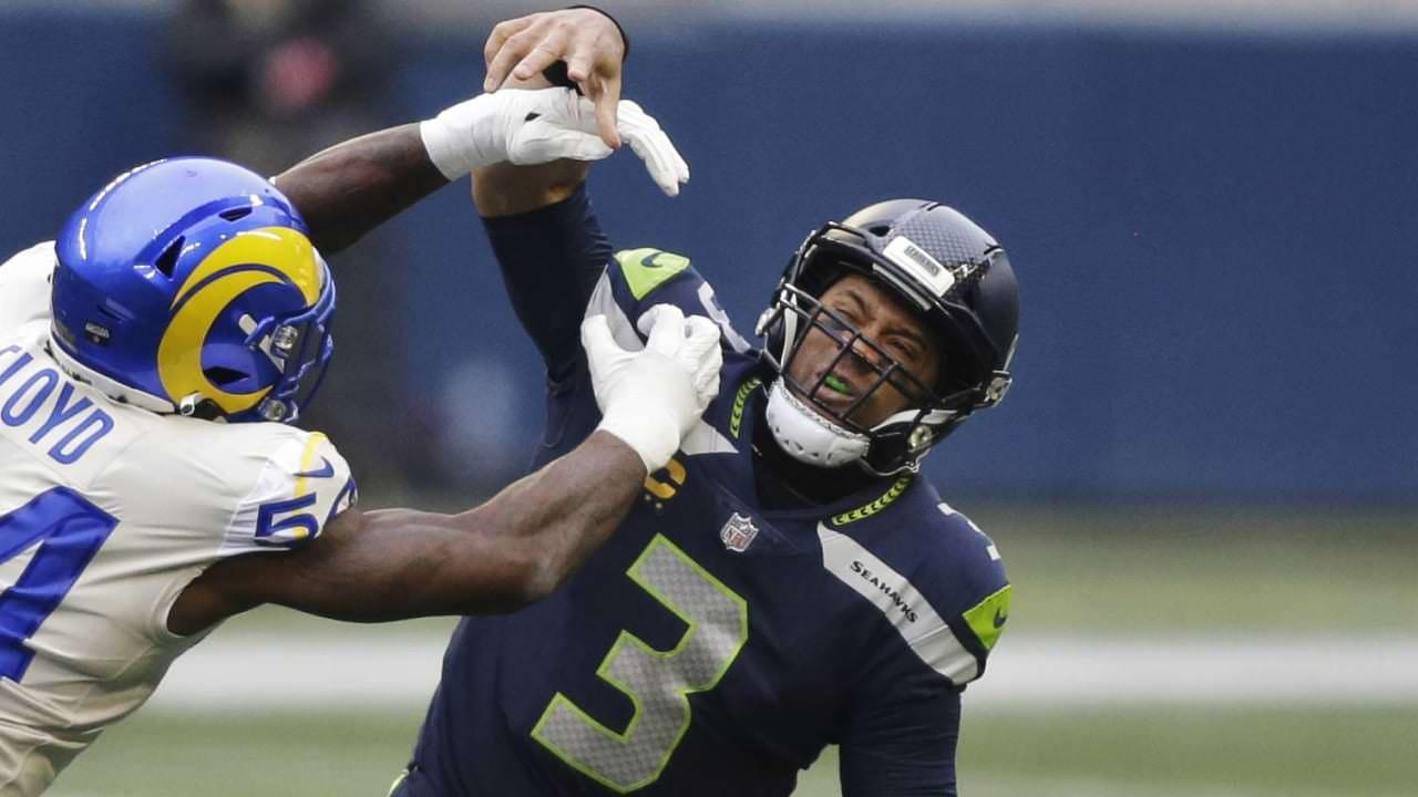 Russell Wilson: Seahawks ofensivo 'nivelado' no segundo tempo contra Rams – NFL.com