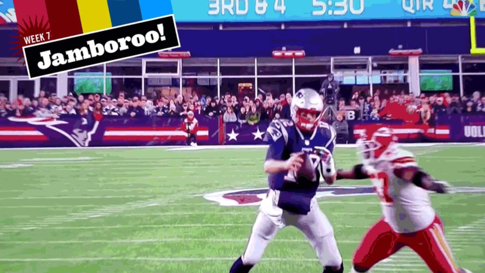 A NFL está transando com defesas, e eu adoro isso!