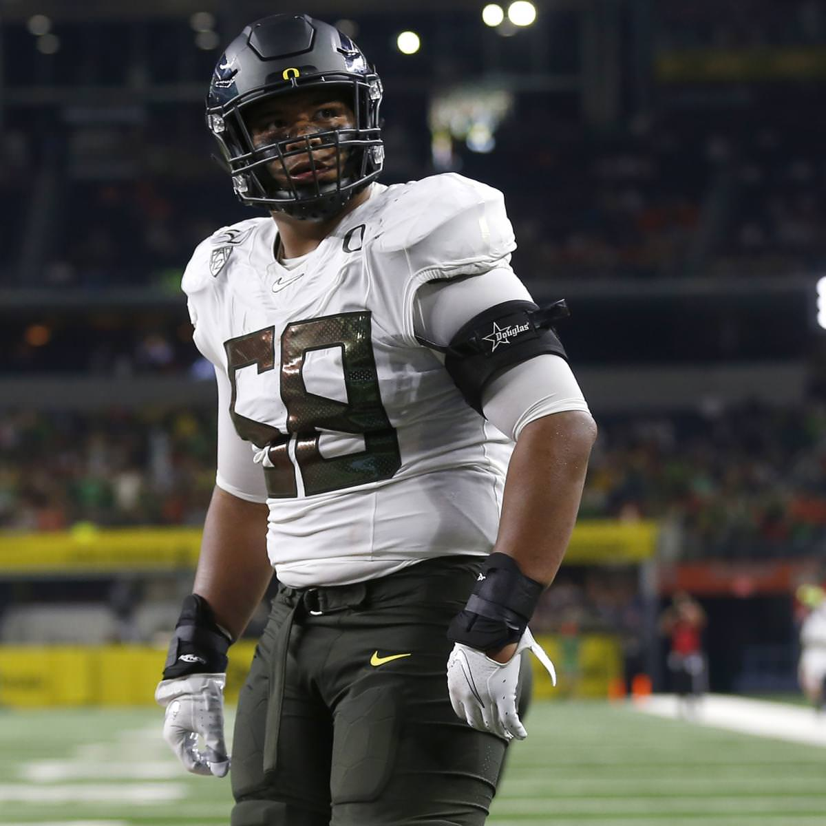 NFL Mock Draft 2021: Predições de campeonato pós-CFP para prospectos da 1ª rodada
