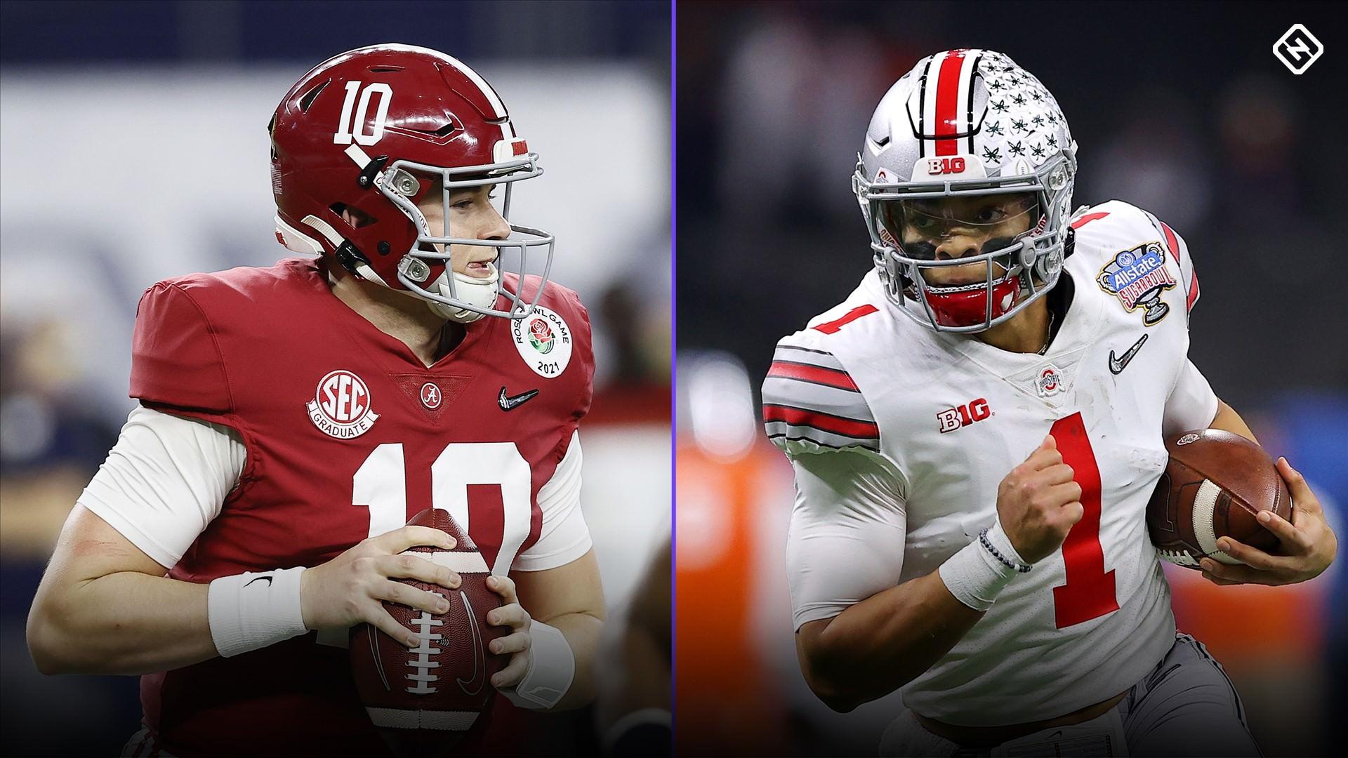 NFL mock draft 2021: Projetando onde os jogadores do Alabama, Ohio State pousarão na primeira rodada