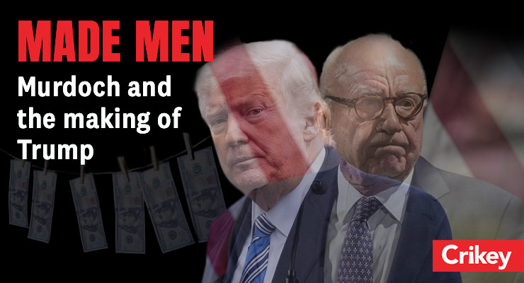Crikey continua perseguindo nossos líderes: o que fazer com a influência de Murdoch?