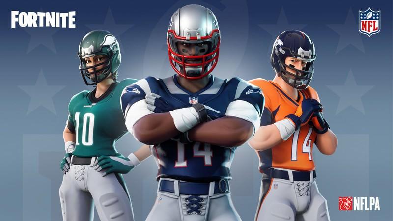 NFL e Epic se unem para trazer todos os 32 uniformes das equipes da NFL para Fortnit