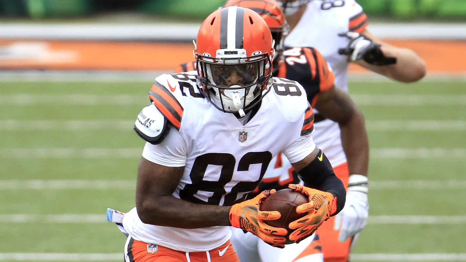 Browns vitimados pela 'pior regra da NFL' enquanto Rashard Higgins fumble custou a Cleveland um touchdown contra Chiefs