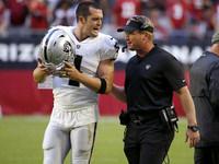 Jon Gruden e Derek Carr minimizam as interações da linha lateral – NFL.com