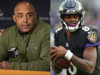 Marvin Lewis fala sobre QBs depois que Lamar destrói D – NFL.com