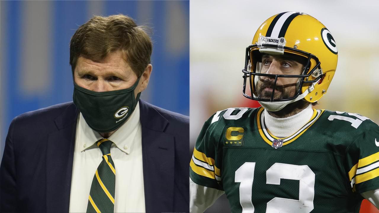 CEO do Packers: De jeito nenhum Aaron Rodgers vai embora, 'nós não somos idiotas' – NFL.com