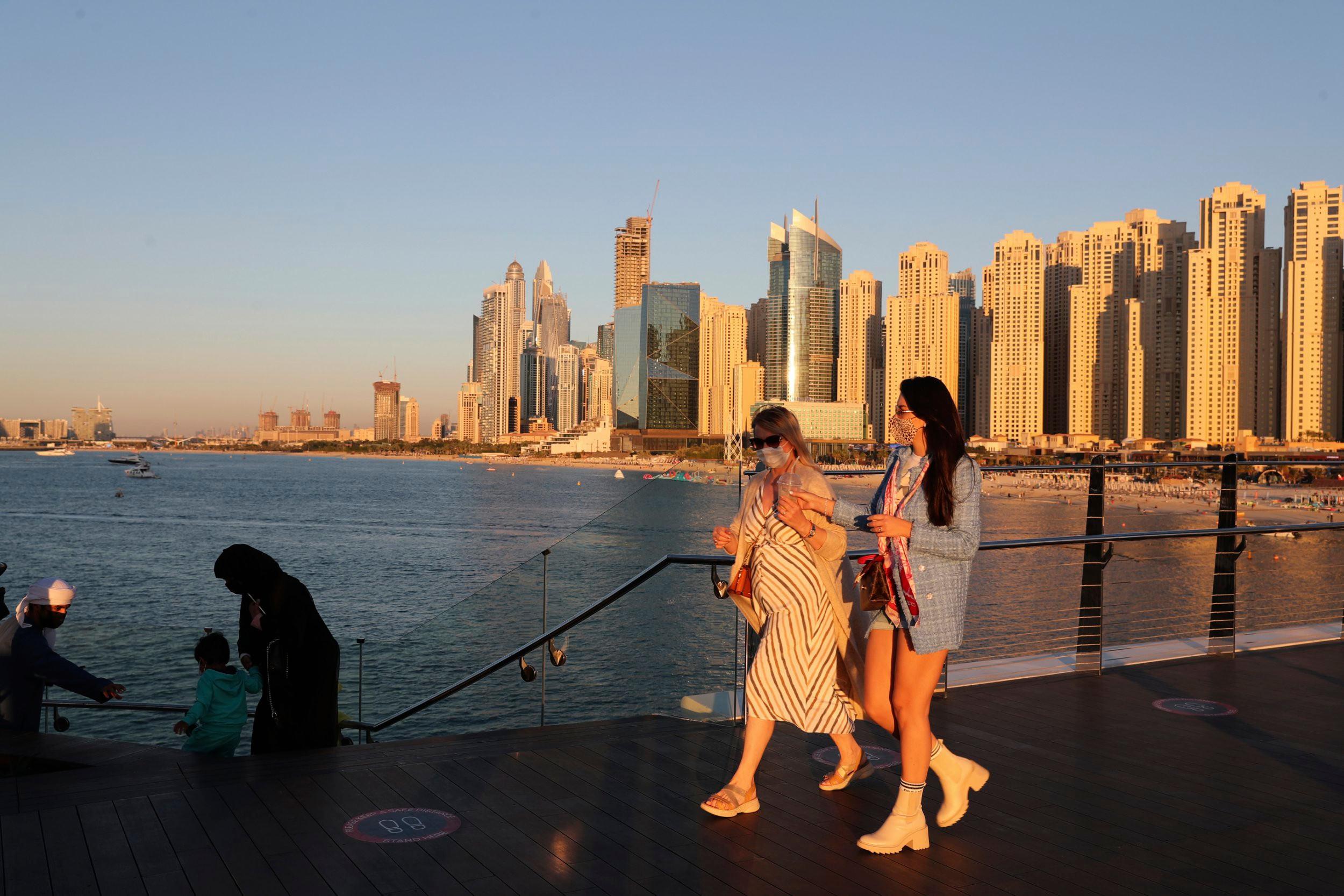 Dubai adicionado à 'lista vermelha' de quarentena de hotéis do Reino Unido