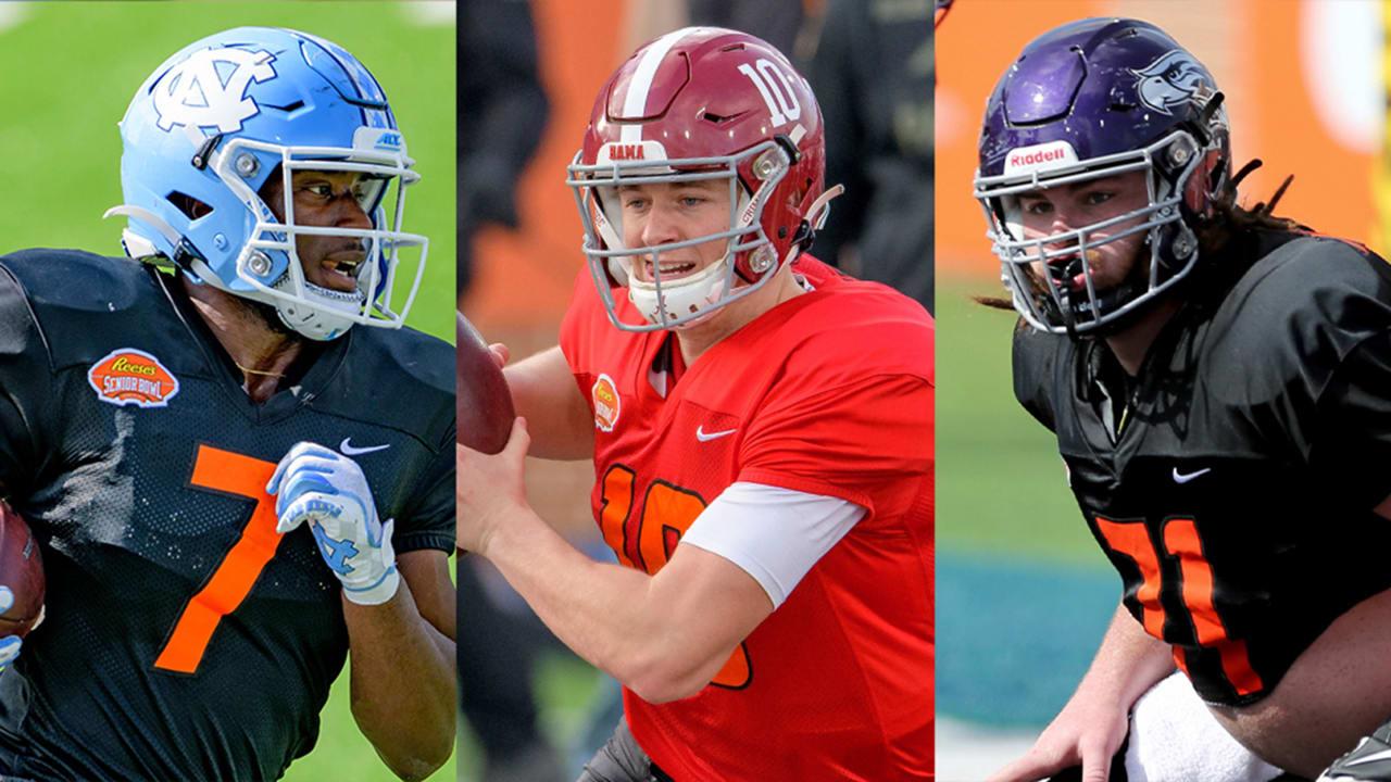 2021 Senior Bowl: os 10 vencedores do draft da NFL de Daniel Jeremiah na semana de prática – NFL.com