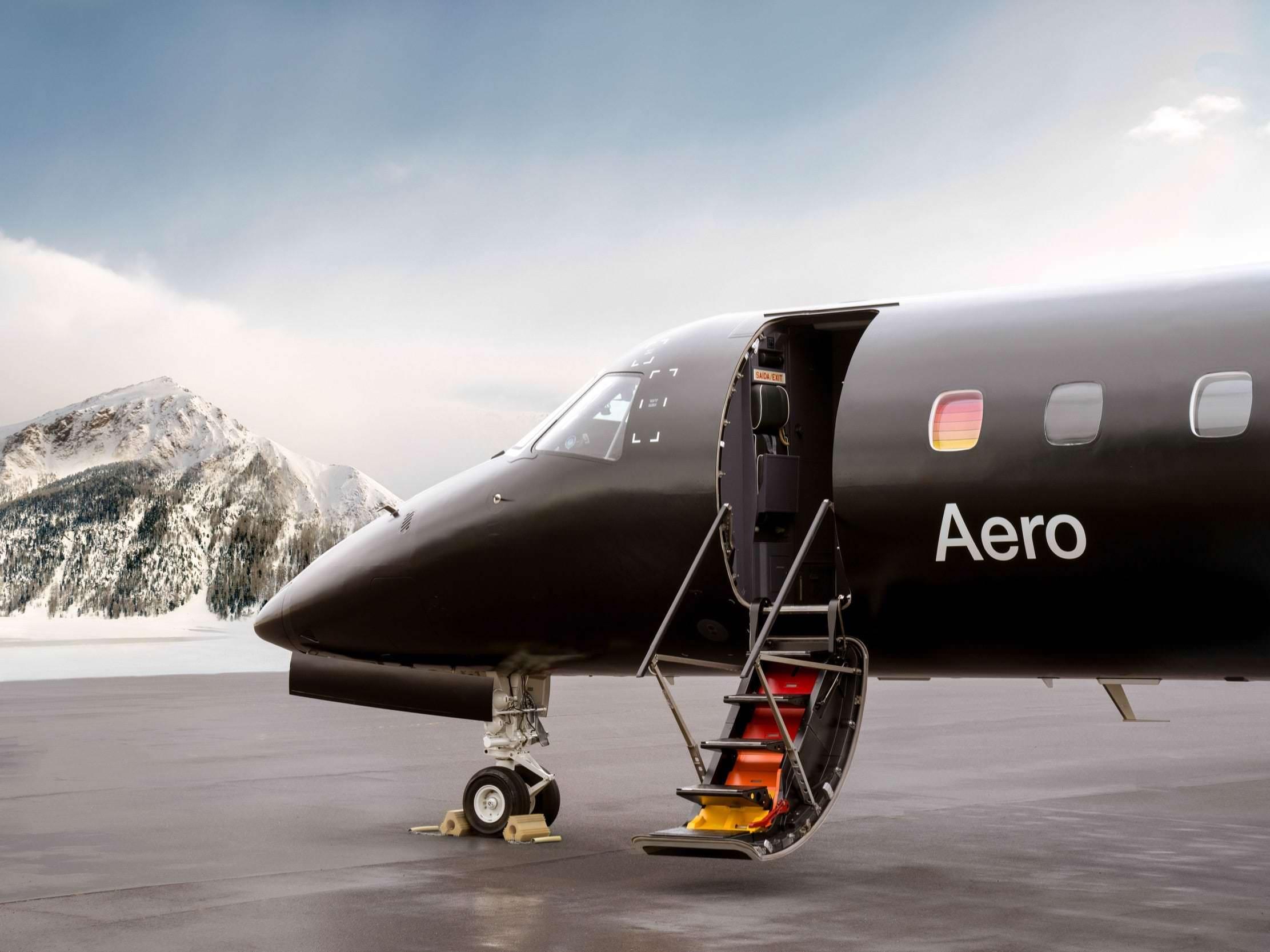 Uma nova companhia aérea de luxo está lançando voos no mês que vem com um avião semelhante a um jato particular – aqui está um olhar mais atento sobre a Aero