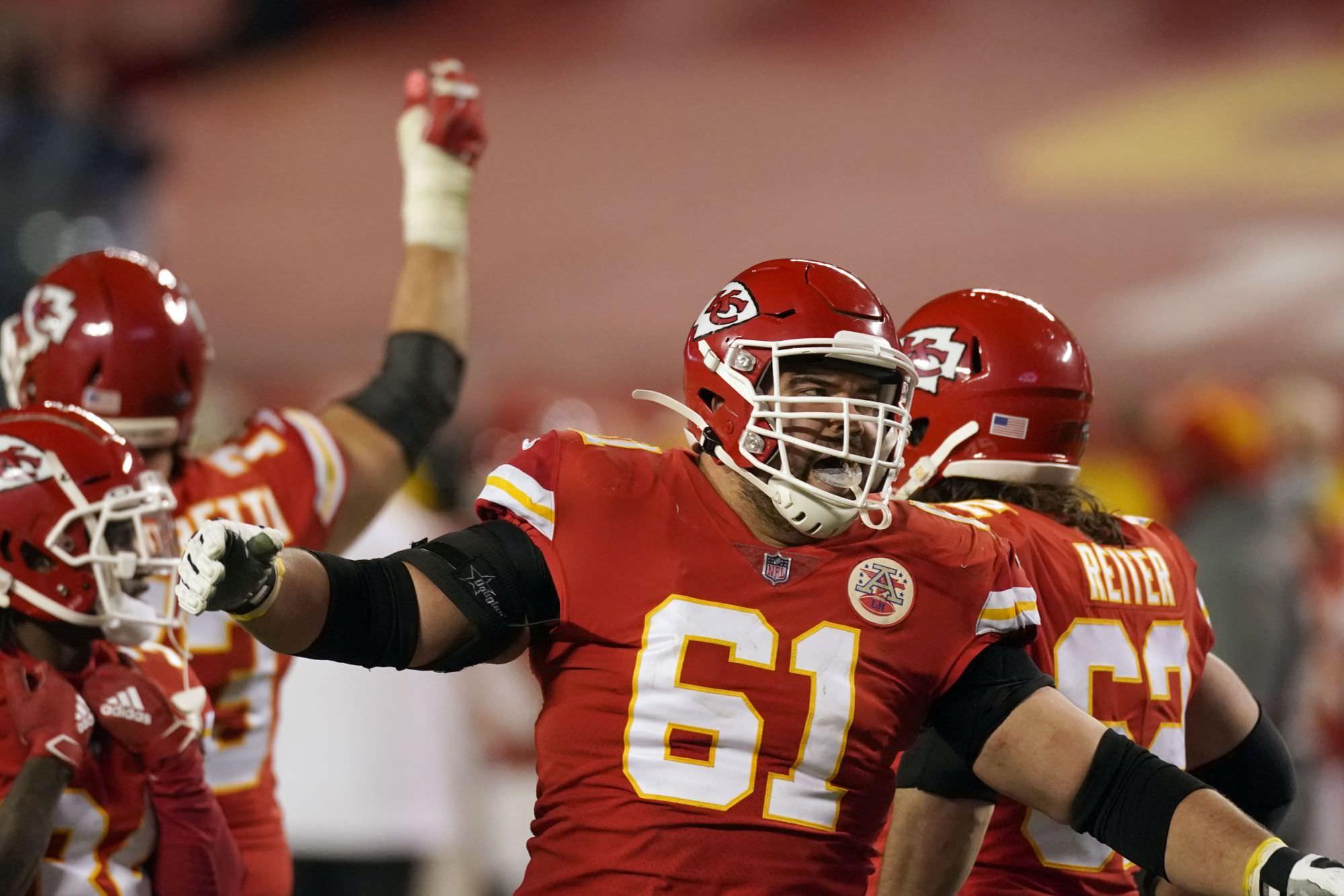 Chiefs seguindo patchwork O-line no Super Bowl vs Bucs
