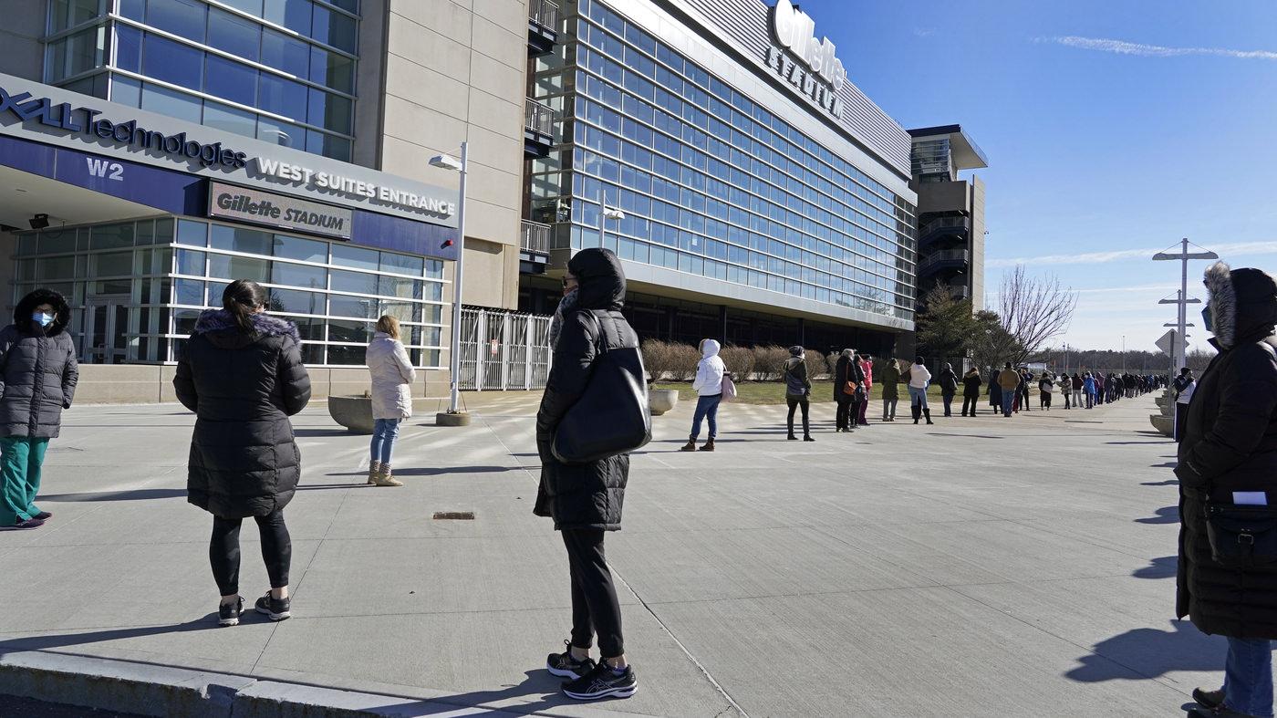 A NFL oferece todos os 30 estádios para uso como locais de vacinas contra o Coronavirus