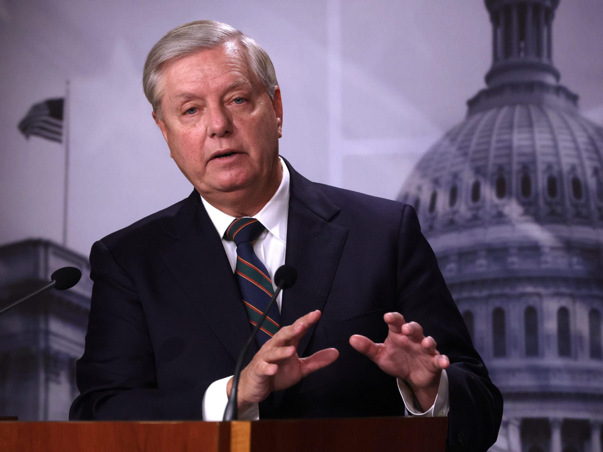 """A senadora Lindsey Graham diz que Trump """"terá sua cota de culpa na história"""" pelo motim do Capitólio"""