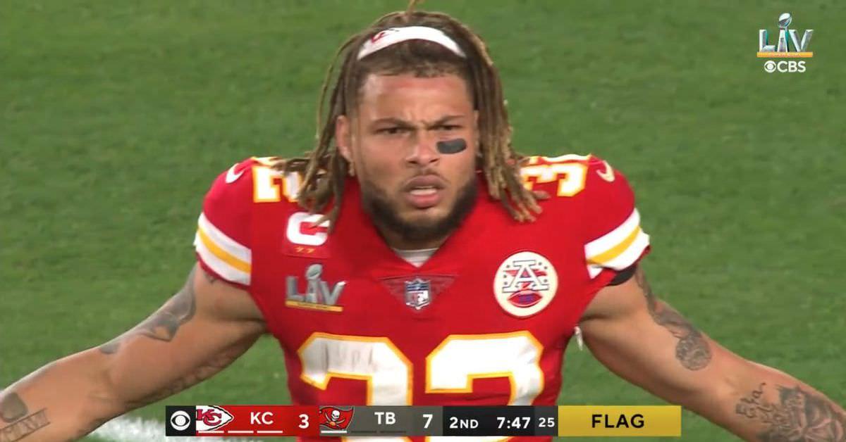 Os Bucs receberam todas as ligações contra os Chiefs no Super Bowl LV