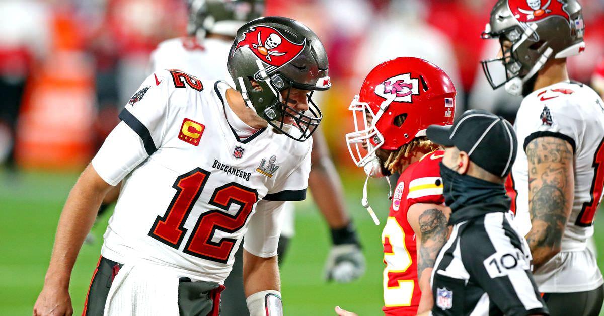 O que Tom Brady disse a Tyrann Mathieu no Super Bowl LV?