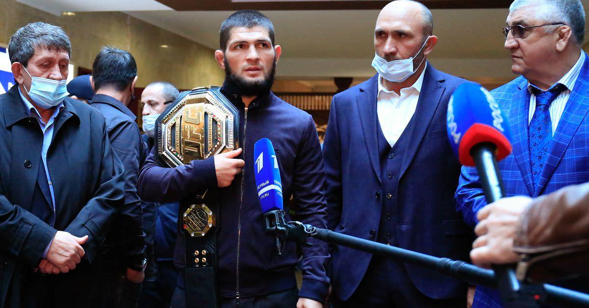 Khabib pede mudanças sociais após assassinato de político do Daguestão