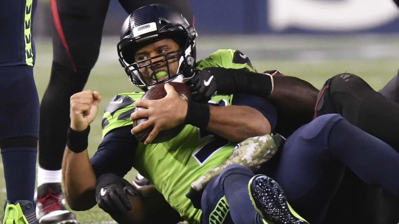 Seahawks QB Russell Wilson: 'Estou frustrado por ser atingido em demasia' – NFL.com