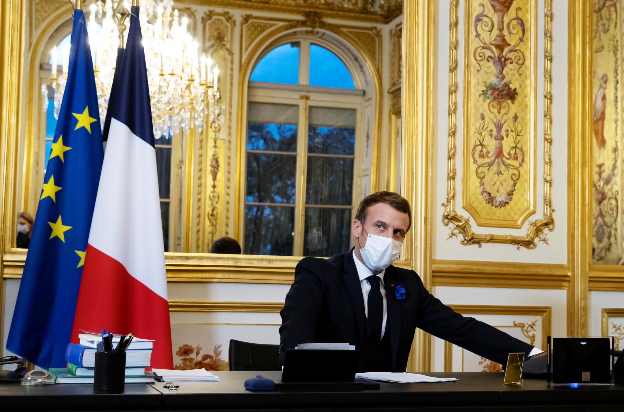 Macron da França busca acordo entre Airbus e Boeing em ligação com Biden, disse a fonte