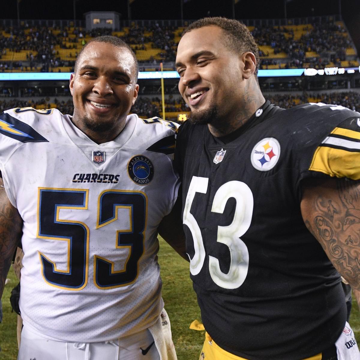 Chargers 'Mike, Steelers' Maurkice Pouncey anunciam aposentadoria da NFL