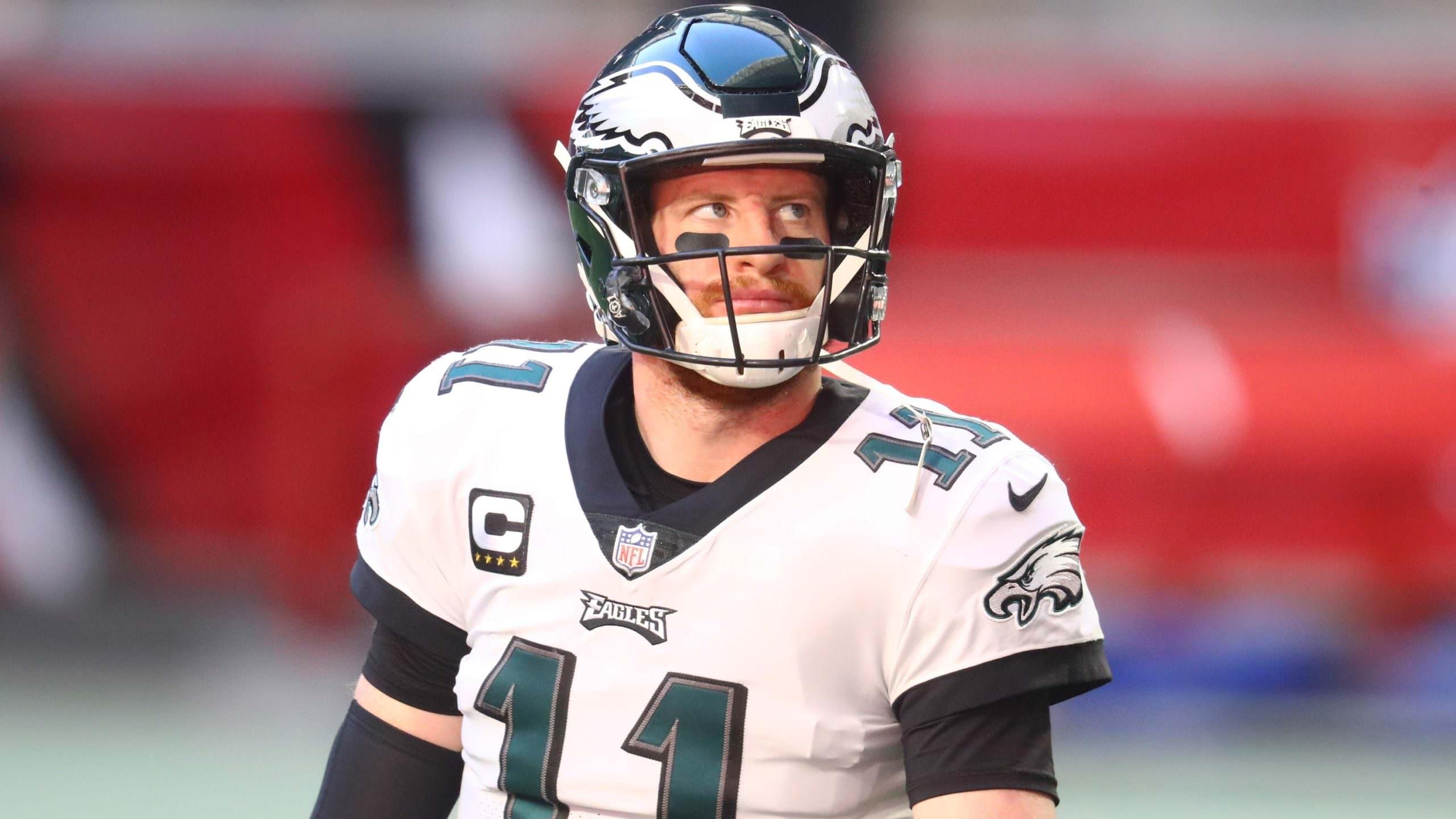 Philadelphia Eagles concorda em negociar QB Carson Wentz para Indianapolis Colts