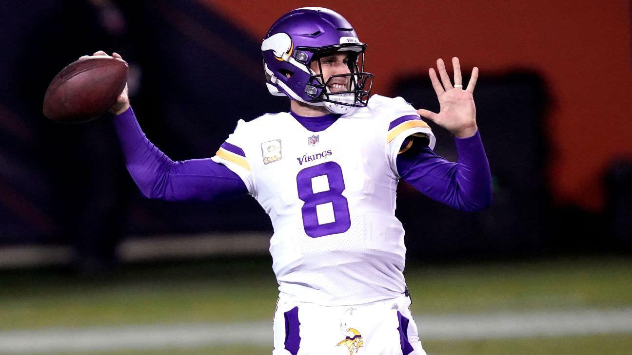 Os Vikings devem negociar primos Kirk?  Avaliando sua situação de QB em 2021 e além