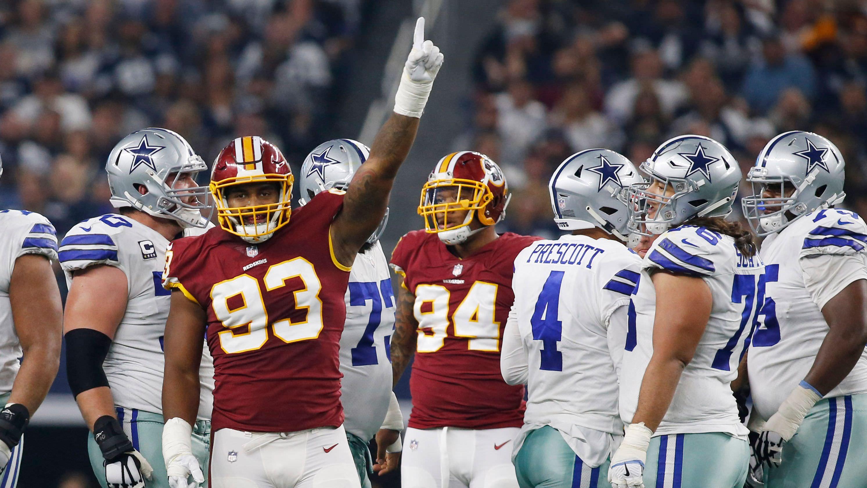 Imagem do playoff da NFL após a semana 12: Apesar da perda, os Redskins reingressam no Cowboys em suporte NFC