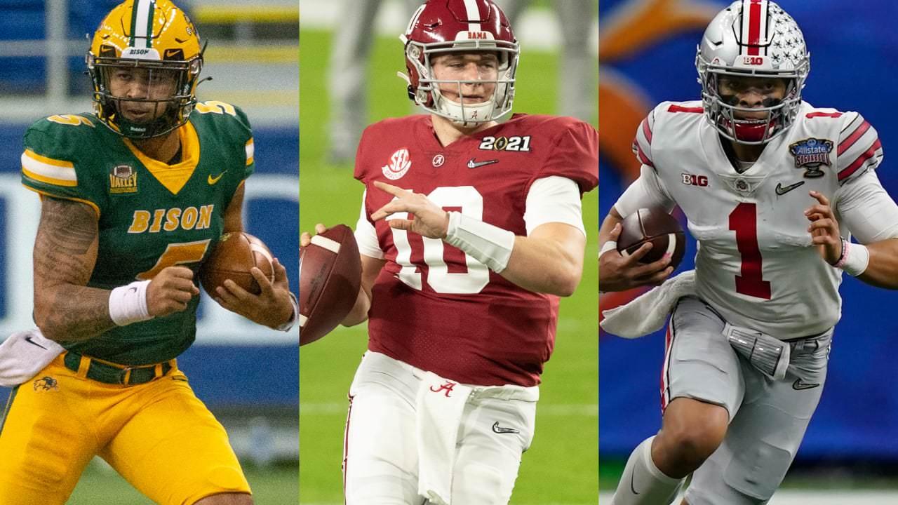 news Four-round 2021 NFL mock draft 1.0: Santos trocam por QB na rodada 1 – NFL.com