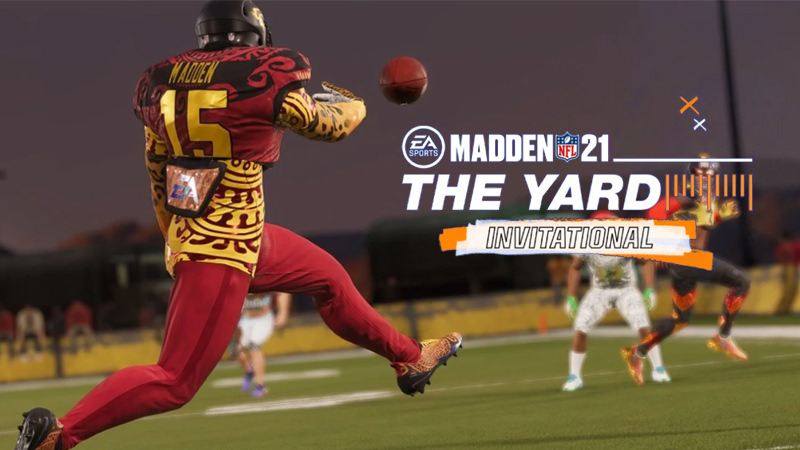 The Yard Invitational, um torneio Madden NFL único