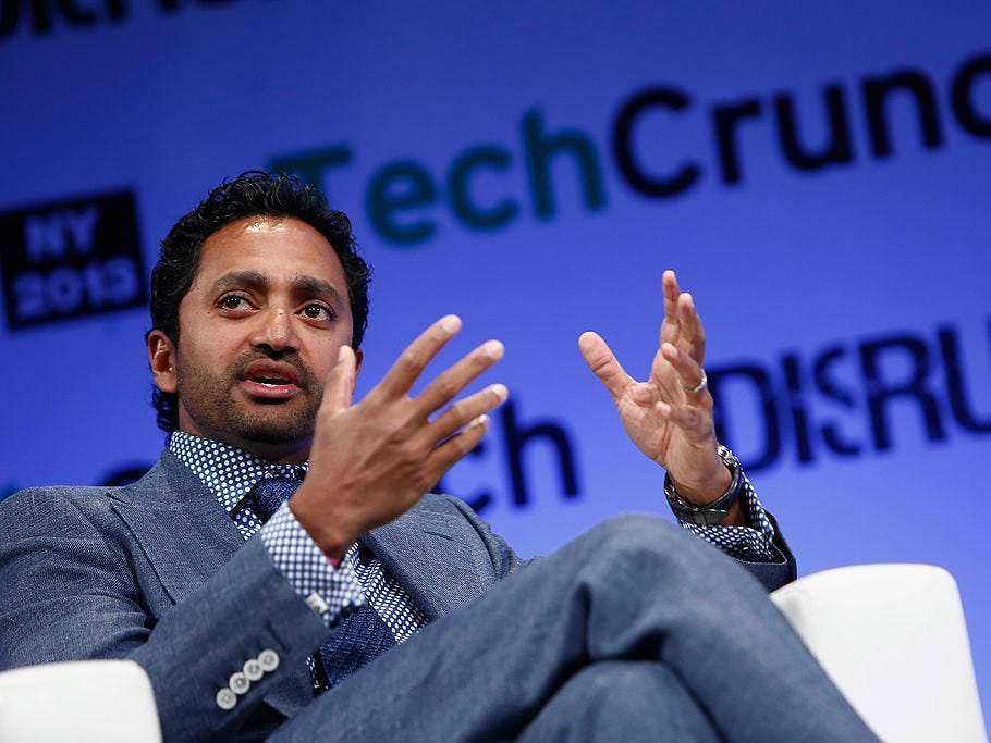 O Twitch supostamente abordou o investidor Chamath Palihapitiya para anunciar seus negócios SPAC em sua plataforma de transmissão ao vivo