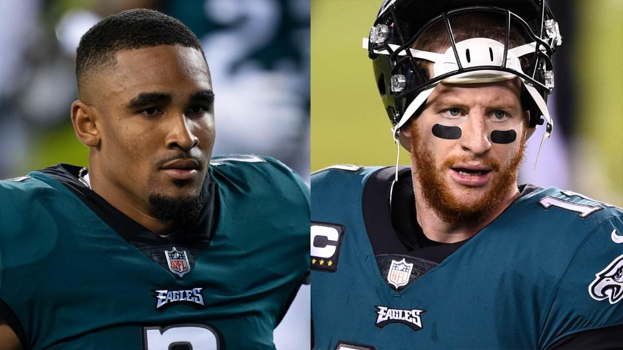 Jalen Hurts: Wentz trade 'mostra a confiança no que (os Eagles) pensam que eu posso ser como jogador' – NFL.com