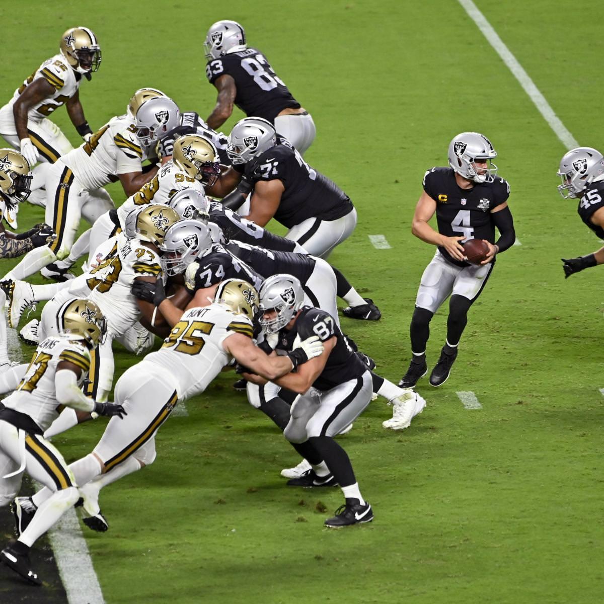 Santos, Raiders não perderão 2021 Draft Picks da NFL após violações do COVID-19