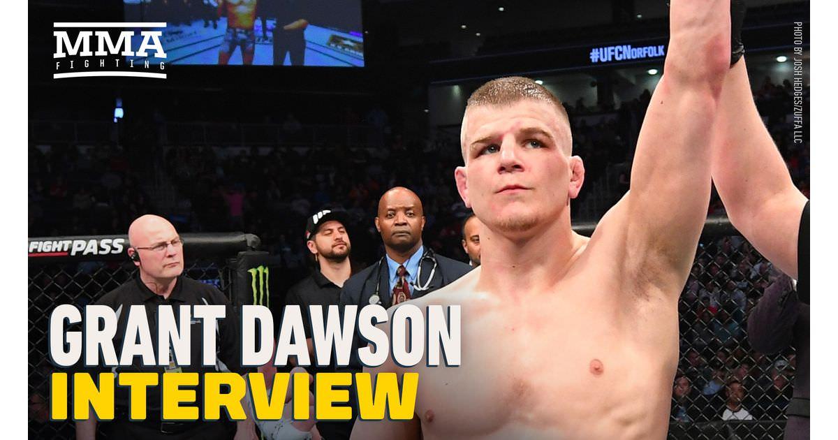Vídeo: Grant Dawson sobre Leonardo Santos: 'É melhor ele torcer para acabar comigo nos primeiros 30 segundos' no UFC Vegas 22