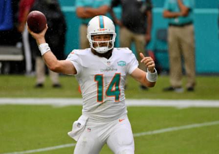 Ryan Fitzpatrick apóia Tua Tagovailoa para fazer 'grandes coisas' com os golfinhos