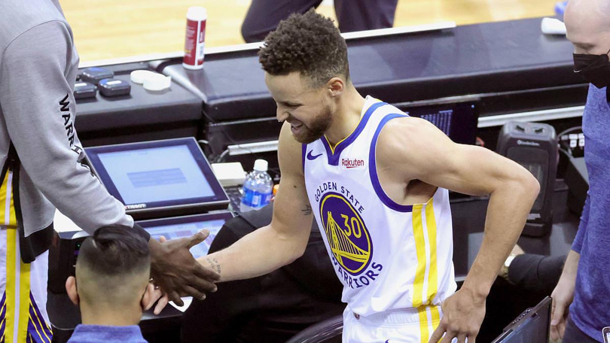 Atualização sobre lesão de Stephen Curry: Warriors estrelam pelo menos mais uma semana após a ressonância magnética mostrar inflamação no cóccix