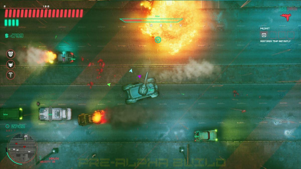 Glitchpunk é Grand Theft Auto 2 com Cyberpunk