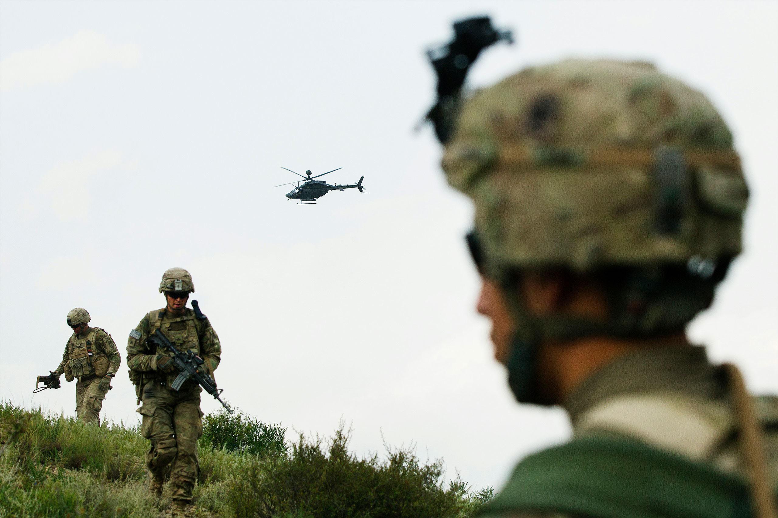 Para Biden, uma escolha angustiante na retirada do Afeganistão