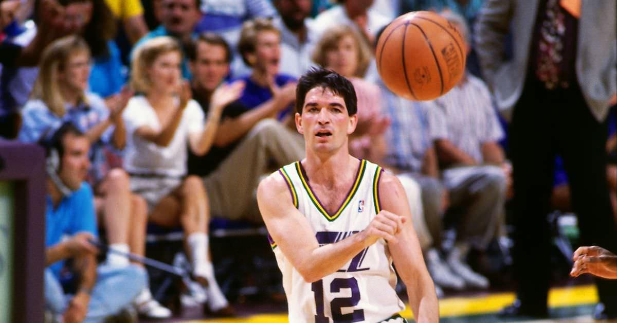 Dorktown: John Stockton já teria liderado a NBA em assistências, mesmo se tivesse jogado apenas 60 jogos