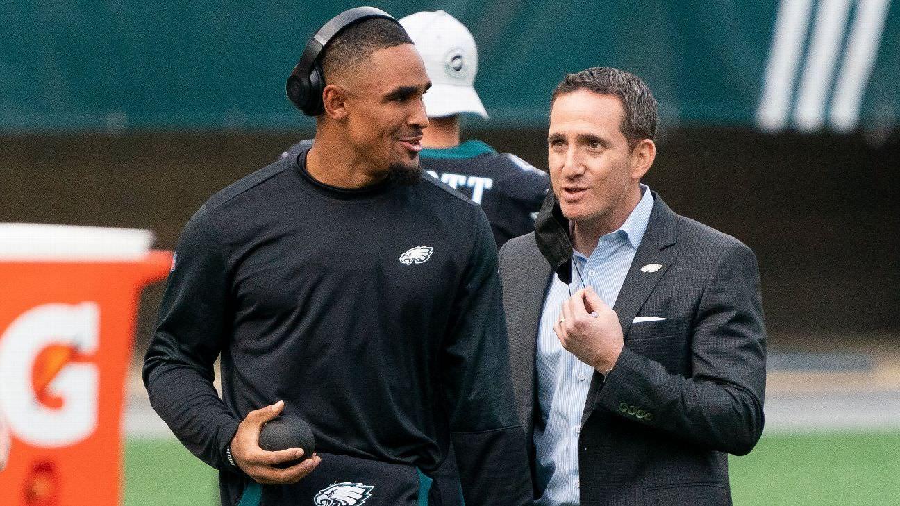 Por que o Philadelphia Eagles está caindo para a 12ª posição no draft de 2021 da NFL?