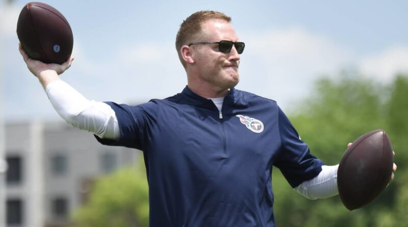 Titans OC Downing 'disparou' sobre o potencial no WR, apesar dos rumores de negociação de Julio Jones – NFL.com