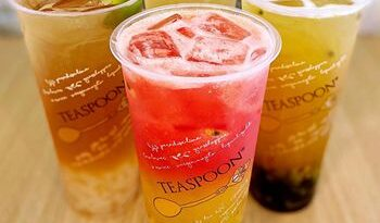 Boba Tea Cafe, colher de chá, adiciona 4 novas unidades de franquia