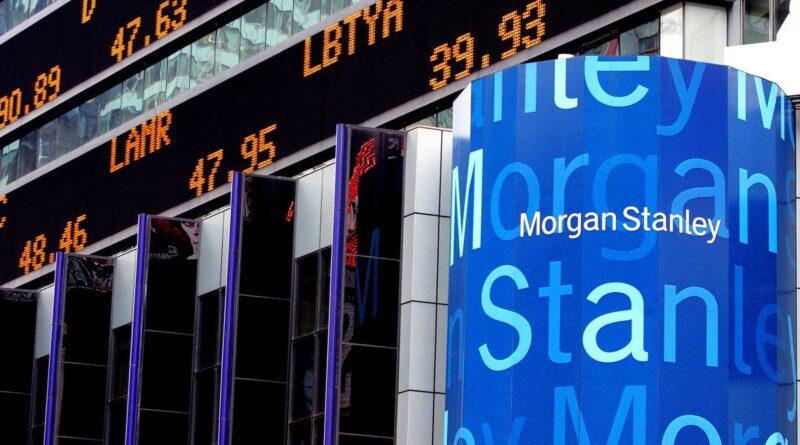 Coisas de dinheiro: Morgan Stanley marca o espaço de escritórios para o mercado